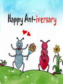 Happy Ant-iversary