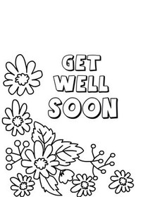 image about Get Well Card Printable named No cost Printable Consider Nicely Quickly Playing cards, Develop and Print Totally free