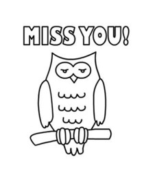 picture relating to Printable Miss You Cards called Free of charge Printable Skip By yourself Playing cards, Develop and Print No cost