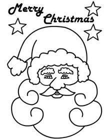 Merry Christmas - Coloring Card