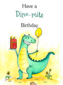 Have a Dino-mite Birthday