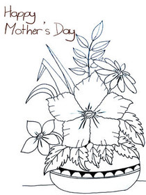graphic relating to Happy Mothers Day Printable Cards known as Cost-free Printable Moms Working day Playing cards, Make and Print Free of charge