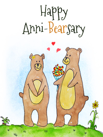 Happy Anni-Bearsary
