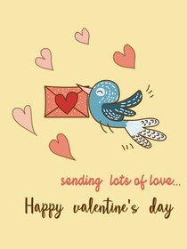 Sending Lots of Love - Happy Valentine's Day