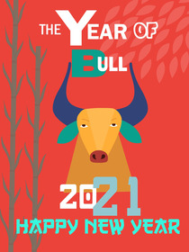 The Year of Bull 2021 - Happy New Year