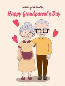 Love You Both.. Happy Grandparent's Day