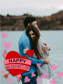 Happy Valentine's Day - Photocard