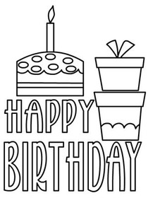 Free printable birthday cards create and print free printable birthday coloring card happy birthday bookmarktalkfo Images