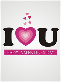 I Love U - Happy Valentine's Day