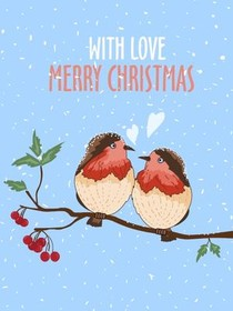 With Love Merry Christmas