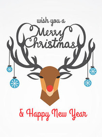 Wish You a Merry Christmas & Happy New Year
