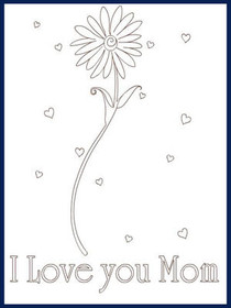 Mother's Day - Color your card 2