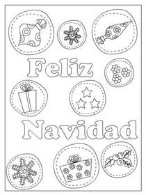 gratis tarjetas para imprimir de navidad tarjeta para colorear