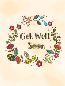 image regarding Get Well Soon Card Printable called Take Perfectly Illustrations or photos No cost