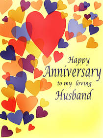 Happy Anniversary to My Loving Husband