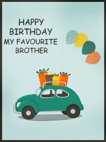 Happy Birthday My Favorite Brother