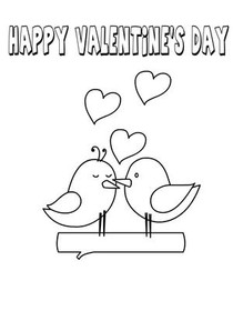Free Printable Valentines Day Coloring Cards Cards, Create ...