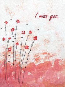 photograph about Free Printable Miss You Cards referred to as Cost-free Printable Miss out on By yourself Playing cards, Produce and Print Free of charge