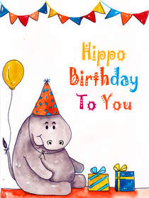 Hippo Birthday
