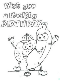 Healthy Birthday
