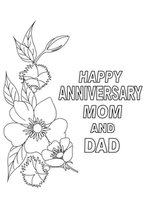 Happy Anniversary Mom and Dad