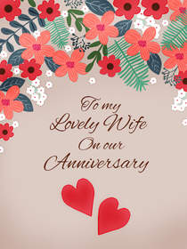 To My Lovely Wife on Our Anniversary