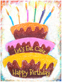 Lets Eat Cake - Happy Birthday