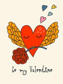 happy valentines day be my valentine - Valentines Day Free Printable Cards