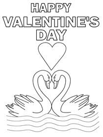 Valentines Coloring Card