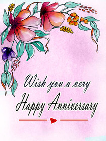 Wishing You a Very Happy Anniversary