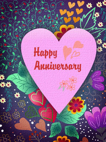 Happy Anniversary  Free Printable Anniversary Cards