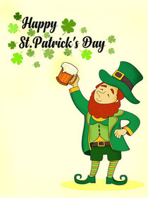 picture relating to St Patricks Day Printable titled Totally free Printable St Patricks Working day Playing cards, Generate and Print Totally free