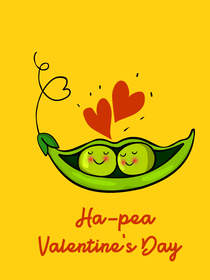 Ha-pea Valentine's Day