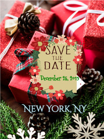Save the Date for Christmas