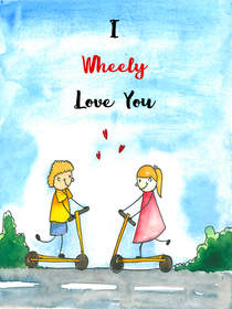 I Wheelt Love you