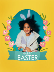 Happy Easter - Easter Photocard