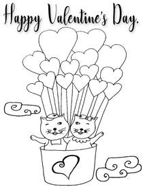 Free Printable Valentines Day Coloring Cards Cards, Create and