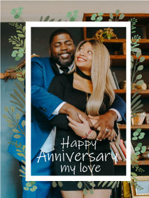Happy Anniversary My Love Photocard