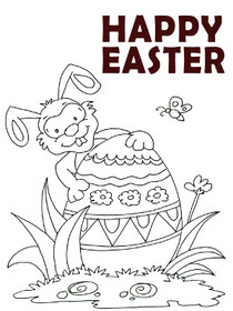 Free Printable Easter Coloring Cards Create And Print