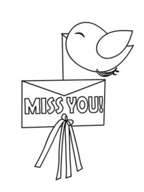 picture relating to Free Printable Miss You Cards named No cost Printable Skip Yourself Playing cards, Make and Print No cost