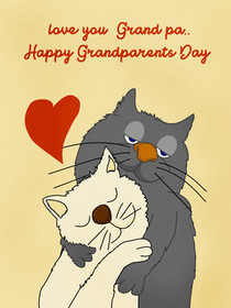 Love You Grandpa.. Happy Grandparents Day