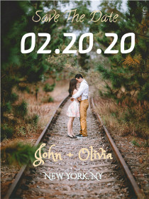 Save the date - Wedding