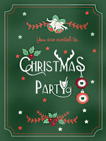 You are Invited to Christmas Party