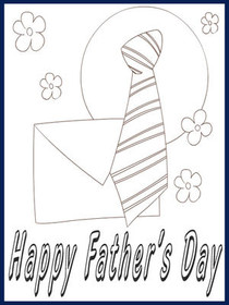 Father's Day - Color Your card 3