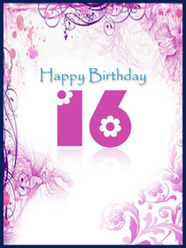 Happy Birthday 16
