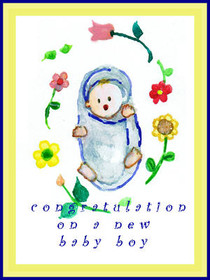 Congratulation on a New Baby Boy