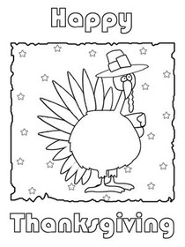 Thanksgiving - Color Your card 1