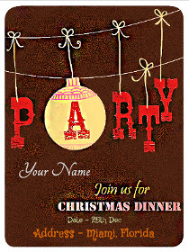 Join Us for Christmas Dinner Party