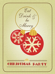 Eat Drink & Be Merry - Christmas Party