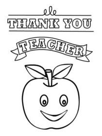 image regarding Teacher Appreciation Card Printable referred to as Free of charge Printable Trainer Appreciation Playing cards, Produce and Print